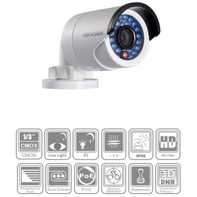 Купить IP камера Hikvision DS-2CD2012-I (1.3 Mp, PoE)