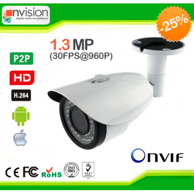 Купить IP камеры NVISION IP-V5130 (1.3 Mp, F=2.8-12mm)
