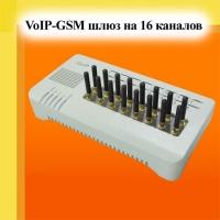 Шлюз GoIP-16 (на 16 GSM каналов)